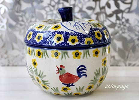 Amazon.com: Polish Pota Lee (Poland tableware) apple pot Apple Baker ...