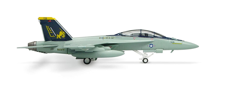 Herpa FA-18F Super Hortnet Usn VFA-32 Swordsman 1//200 Herpa Wings 551939