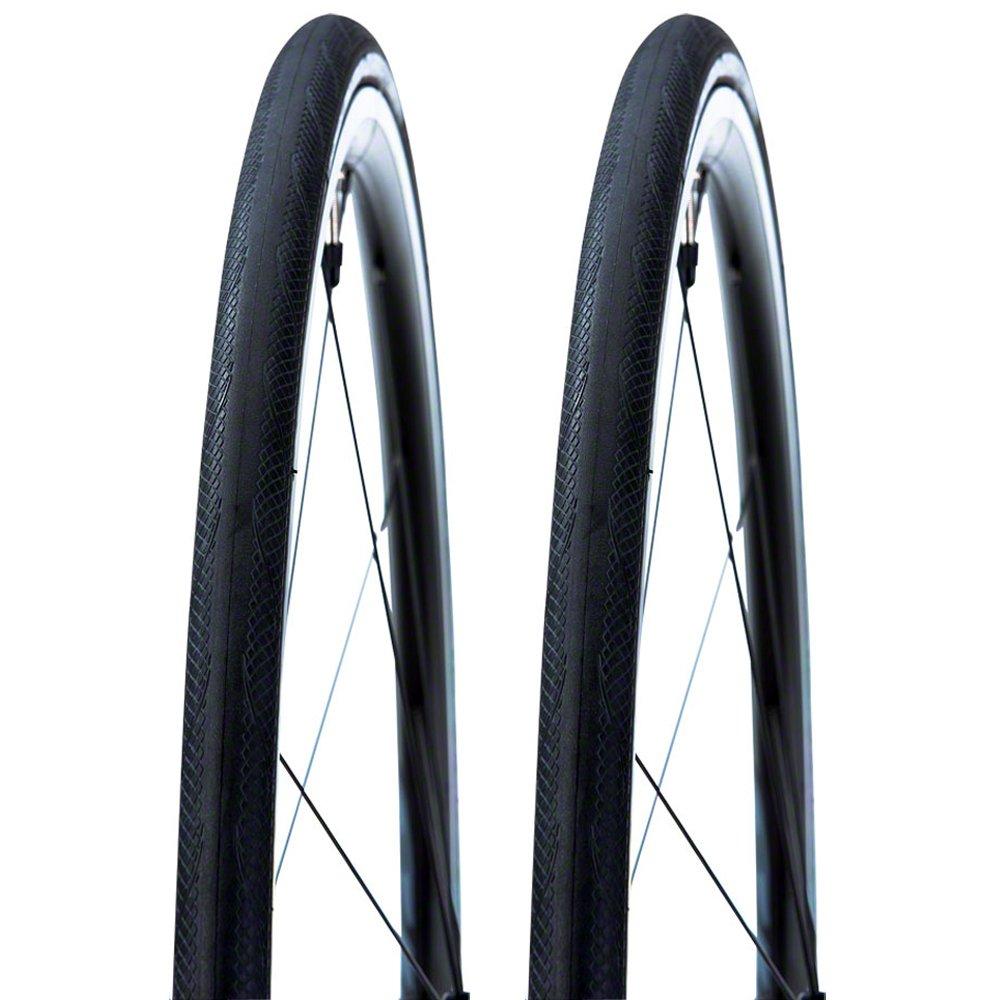 Vittoria Rubino Pro IV G+ Folding Bead Tire 700x25c Black Duo Pack - 2 Tires
