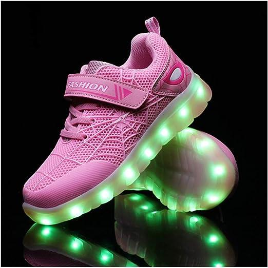 Zapatos Luminosos,LED Zapatos Ligero Transpirable Bajo 7
