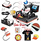 8IN1 SWING Heat Press Machine (CAP, PLATE, MUG T-SHIRT)