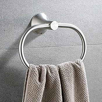 Amazon Com Bath Towel Ring Holder Bathroom Shower Hand Towel Ring