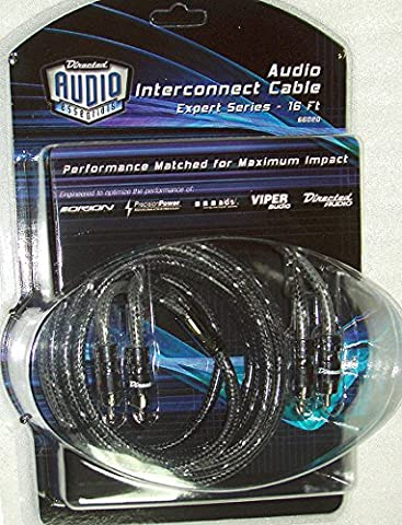 16' RCA Audio Interconnect Cable EXPERT Series by DEI - Expert Series Rca Interconnect Cables