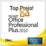 Microsoft Office Professional Plus 2010 Vollversion - 1PC MULTILANGUAGE (Product OEM Key ohne Datenträger inkl. Rechnung, Downloadlink)