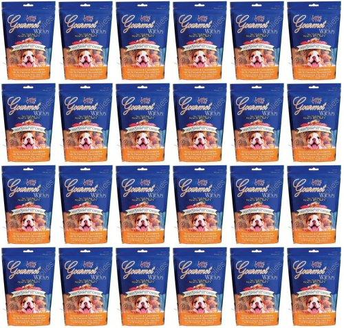 Loving Pets Gourmet Sweet Potato & Chicken Dog Treat Wrap 12Lb(24x8oz)