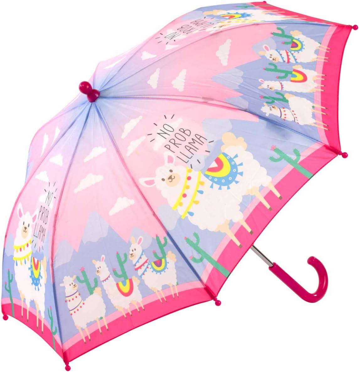 Childrens Llama Umbrella No Prob Llama