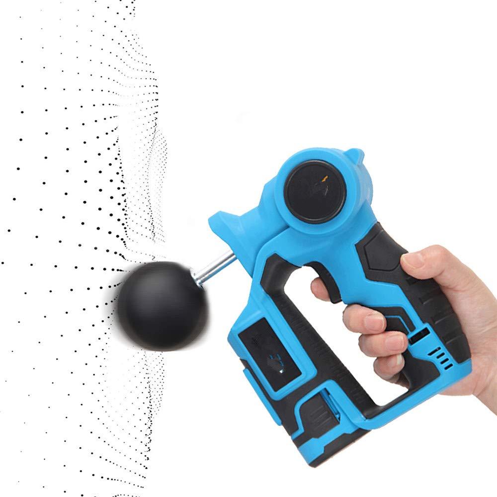 専門の手持ち型の深いティッシュのマッサージャー銃 - 銃のための6files電子療法ボディマッサージ銃ボディのための高周波振動マッサージ銃の救助の苦痛のために弛緩 B07SBJVMCZ