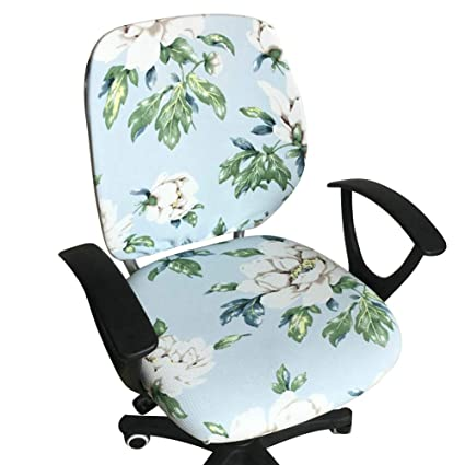 Fine Amazon Com Echaprey Two Piece Stretchy Washable Rotating Pabps2019 Chair Design Images Pabps2019Com