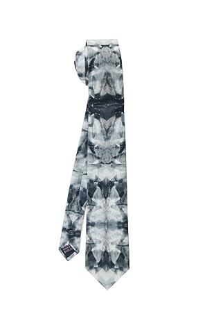 HXCMAN NeckTie 8cm negro floral frescas de tendencias de moda ...
