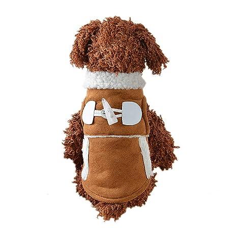 PZSSXDZW Ropa para Mascotas Estilo de Locomotora Ropa de ...
