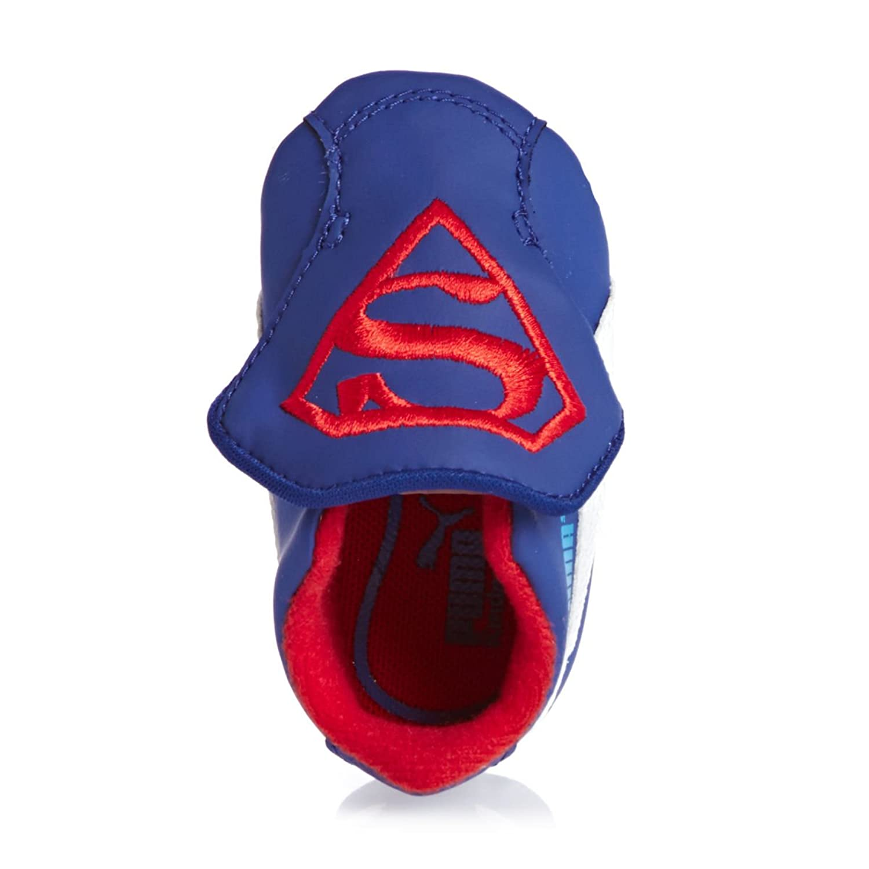 Puma CRIB PACK SUPERMAN 2 Zapatillas Sneakers Shirt Azul Rojo para Bebe jrNB77