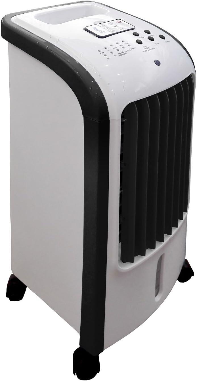 Ardes Eolo Mini Negro, Blanco - Ventilador (Negro, Blanco, Piso, 7,5 h, 5 L, 80 W, 300 mm)