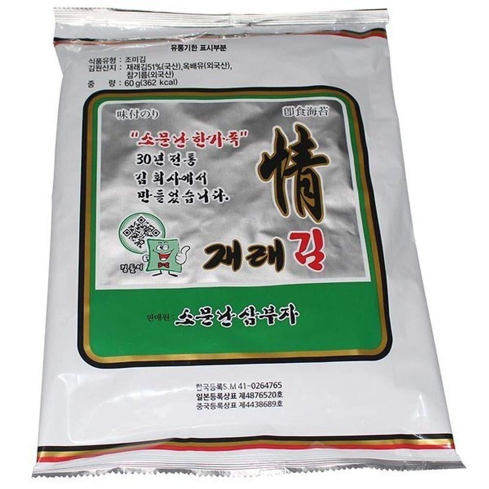 Korea Seaweed Full Size 30g x 10 packs