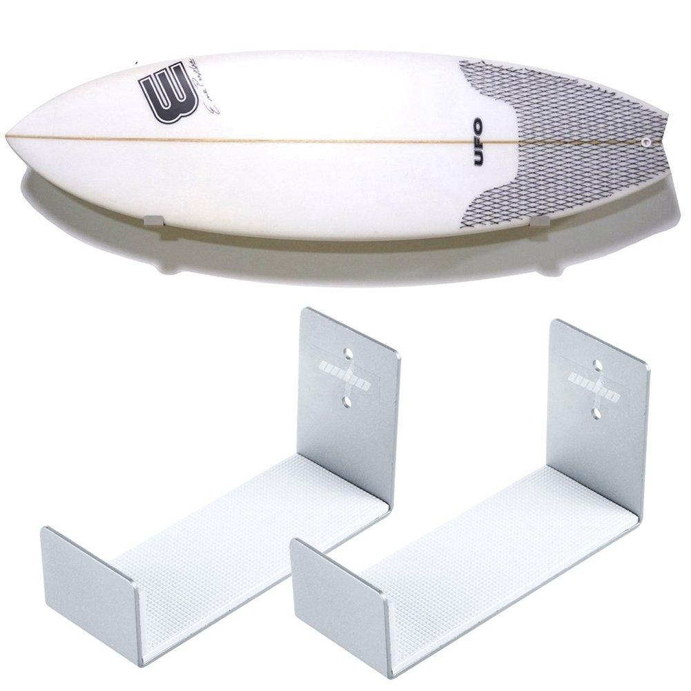 Unho Support Mural Surf Stockage De Planche De Surf En Aluminium  # Comment Accrocher Les Planches A Tv Au Mur