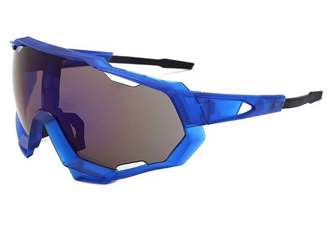 AnazoZ Gafas de Sol Hombre Gafas de Montar Gafas Protectoras ...