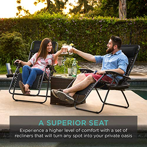Adjustable zero gravity lounge chair recliners
