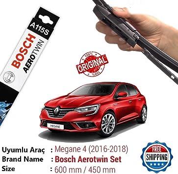 Bosch Aerotwin A115s 3397007115 Scheibenwischer Wischerblatt Wischblatt Flachbalkenwischer Scheibenwischerblatt 600 450 Set 2mmservice Auto