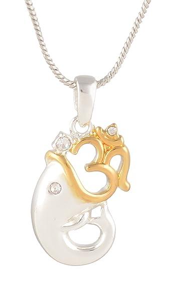 Buy Estelle Two Tone Hindu God Lord OM Ganesha Ganesh Ganpaty