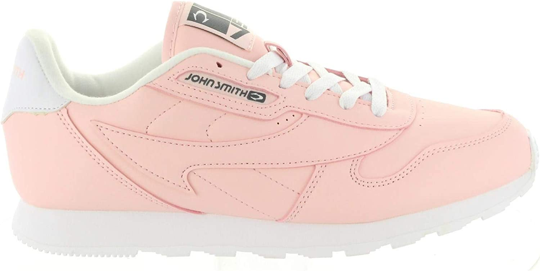 J.Smith Cresir Zapatillas Mujer Casual clásicas Rosas: Amazon.es: Zapatos y complementos