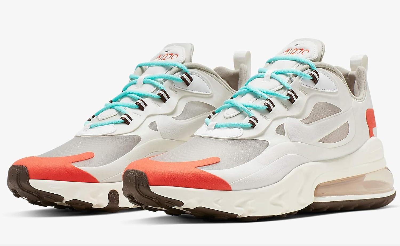 : Nike Air Max 270 React Mens Ao4971 200: Shoes