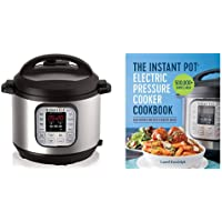 The Instant Pot Electric Pressure Cooker Cookbook & Instant Pot DUO60 6 Qt 7-in-1 Multi-Use Programmable Pressure Cooker