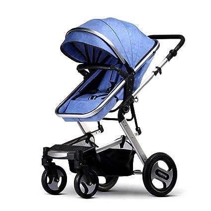 7f0417944 Y&XF Cochecito de bebé para recién Nacidos y niños pequeños - Cochecito de Cuna  Convertible Cochecito