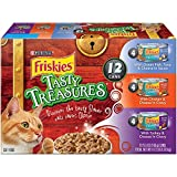 Friskies Purina Tasty Treasures Variety Pack Cat Food Cans