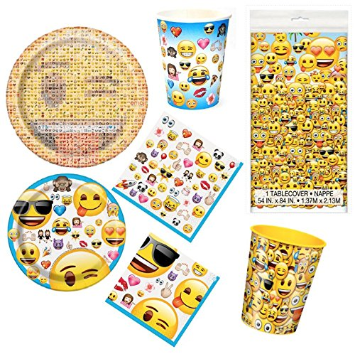 Emoji Movie Party Supplies Party Pack