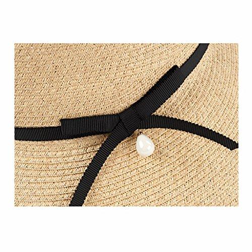 Di Pescatore Nero Qiqidedian Spiaggia Della Solare Crema Femminile Protezione Estate Cappello Parasole 8UPxwOq