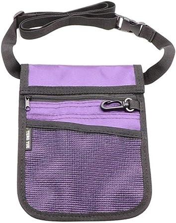 ZRDY Pack Organizador De Cinturón De Enfermería For Bolsa De Cintura De Enfermera Bolsa De Herramientas De Hombro For Mujer (Color : Purple): Amazon.es: Hogar