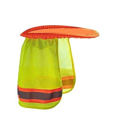 78983cd69 SUGLORY Hard Hat Neck Shield Helmet Sun Shade Reflective Stripe ...