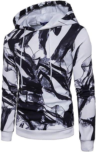 OHQ Sudadera con Capucha De Manga Larga Hombre Camisa Hombre Sudadera con Capucha De Camisa Hombre Sudadera con Capucha CáLido Y CóModo: Amazon.es: Ropa y accesorios