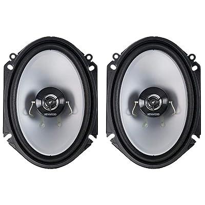 Kenwood KFC‑C6866S 6x8 2‑Way 250 Watt Car Stereo Speakers - Pair: Home Audio & Theater