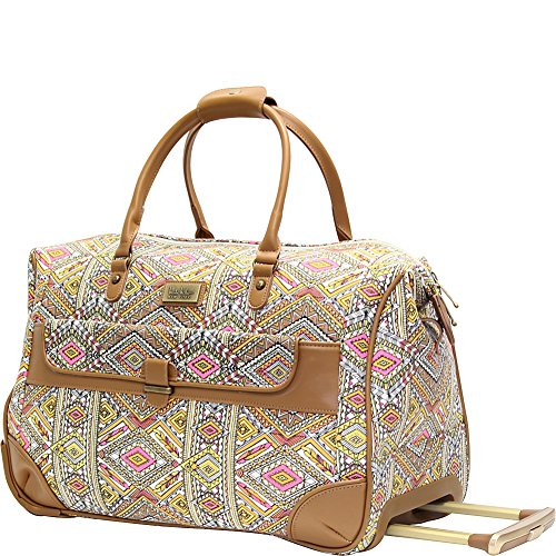 nicole-miller-ny-luggage-sedona-wheeled-city-bag-yellow