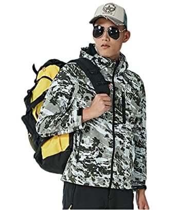 2625f6dce46 Amazon.com  Ausom Fashion Unisex Camouflage Velvet Warm ...