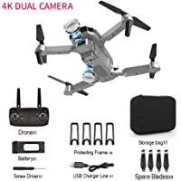 Drone met dubbele camera Lange vliegtijd GPS 4K Photo 1080P Video Quadcopter Drone