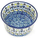 Polish Pottery 3.5'' Handmade Ramekin 409- French Country