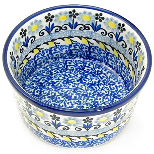 Polish Pottery 3.5'' Handmade Ramekin 409- French Country by Polish Pottery Boleslawiec