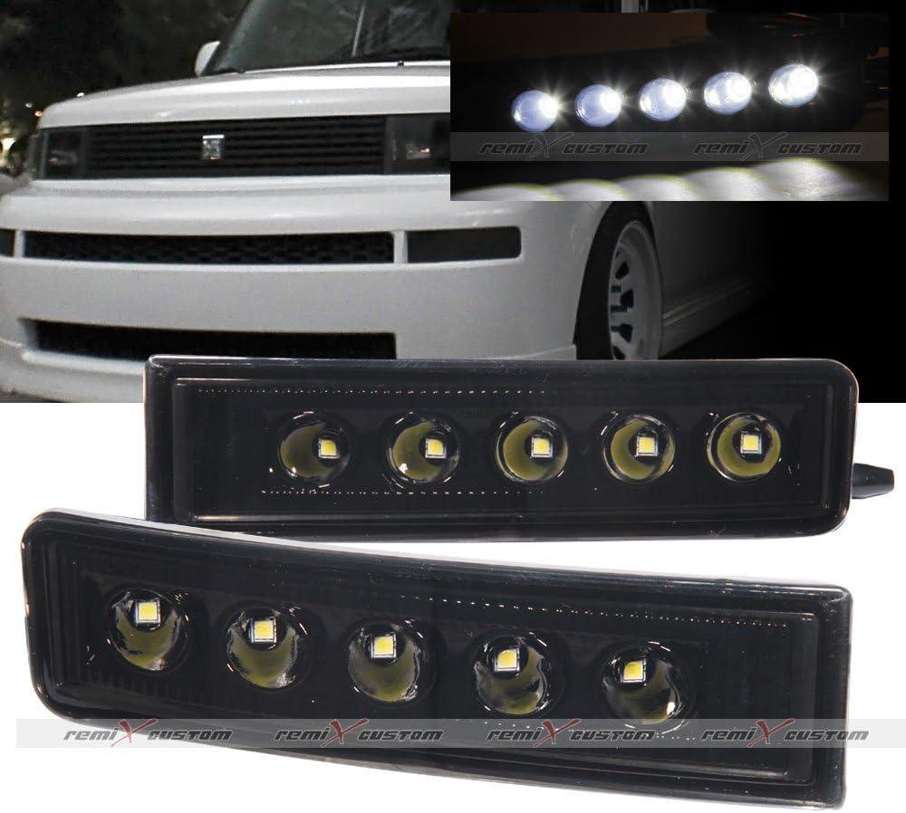 2003-2006 Scion xB Front SMDx6 LED Daytime Running Fog Lights Smoke