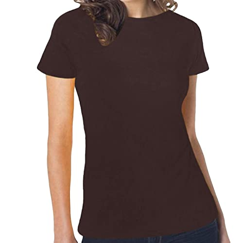 Hanes –  T-shirt – Maniche corte – Donna