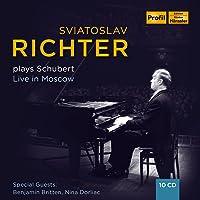 Svjatoslav Richter Plays Schubert - Live In Moscow