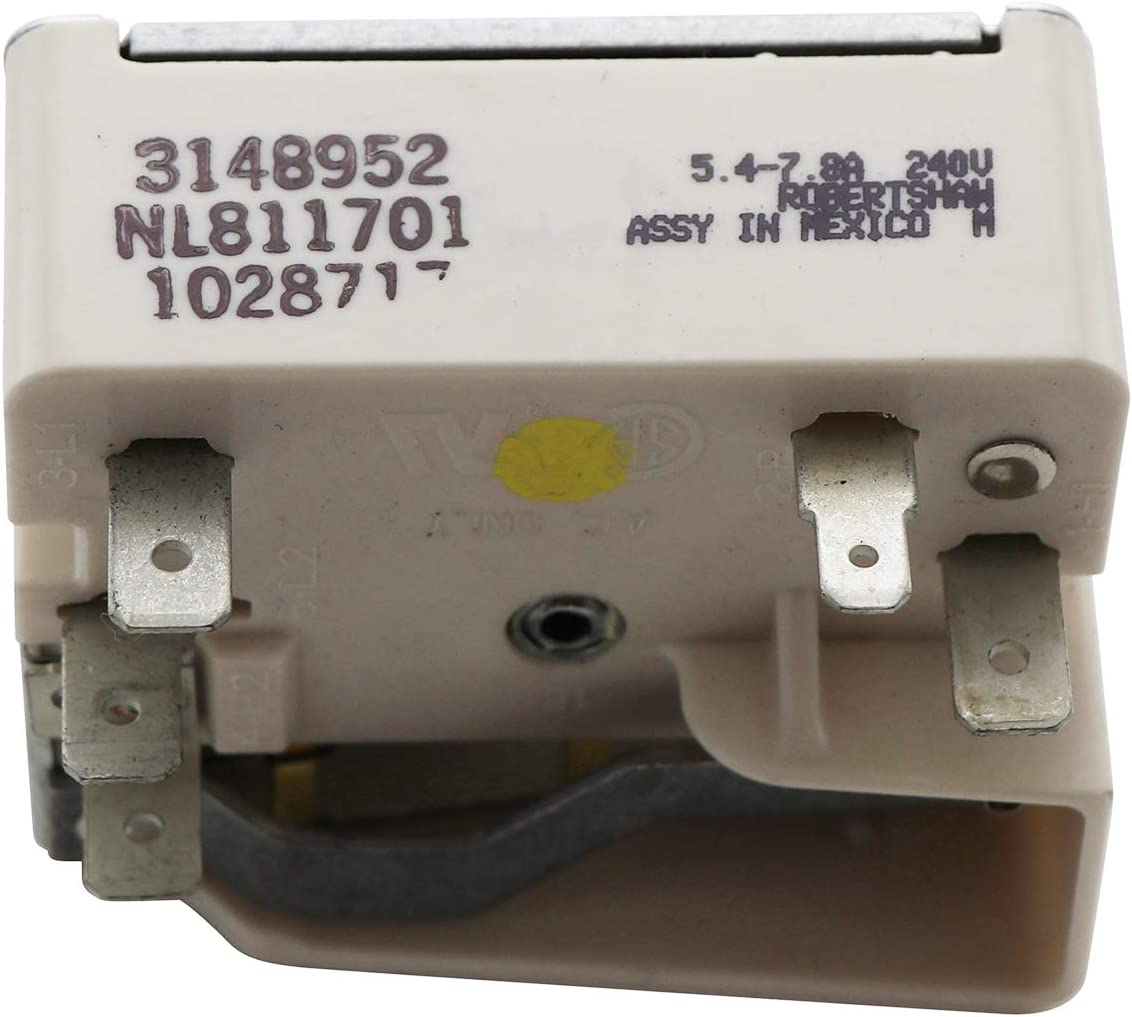 WHIRLPOOL KENMORE KITCHENAID Range Burnerl Switch 3148952 NL811701