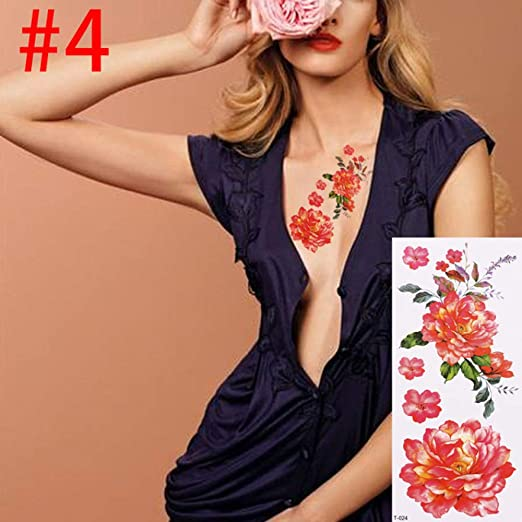 5 Nuevas Damas y Damas Desmontables para Mujeres 3D Flor de Rosa ...
