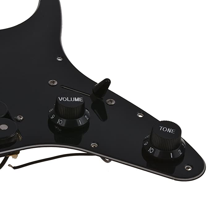 Amazon.com: Loaded Pickguard with Pickups for Ibanez GRGM21 Electric Guitar Parts Replacement HH 3 Ply Black: Musical Instruments