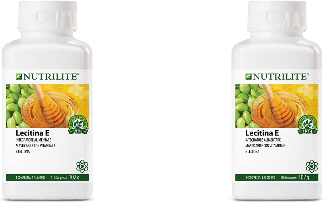 Pack 2 Lecitina E de NUTRILITE -110 comprimidos/102 gr.