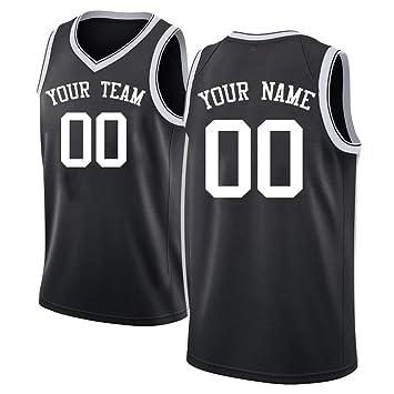 QimeiJer Players - Camiseta de Baloncesto para Adulto (Malla ...