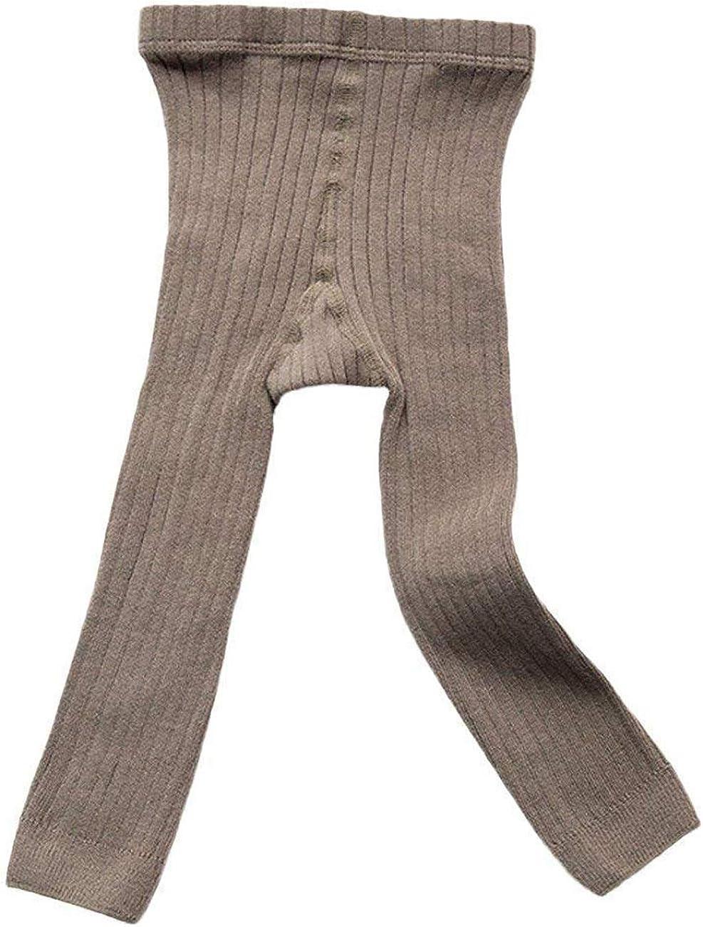 Younger star Toddler Baby Basic Ribbed Leggings Footless Tights Kids Little Girls Dress Bottom Pants