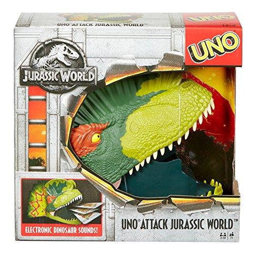 Amazon Uno Attack Jurassic World Game Toys Games