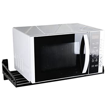 PENGFEI Estantes para soportes Estantería Colgante Cocina Baldas Horno De Microondas Multifunción Aluminio 5 Tamaños especias
