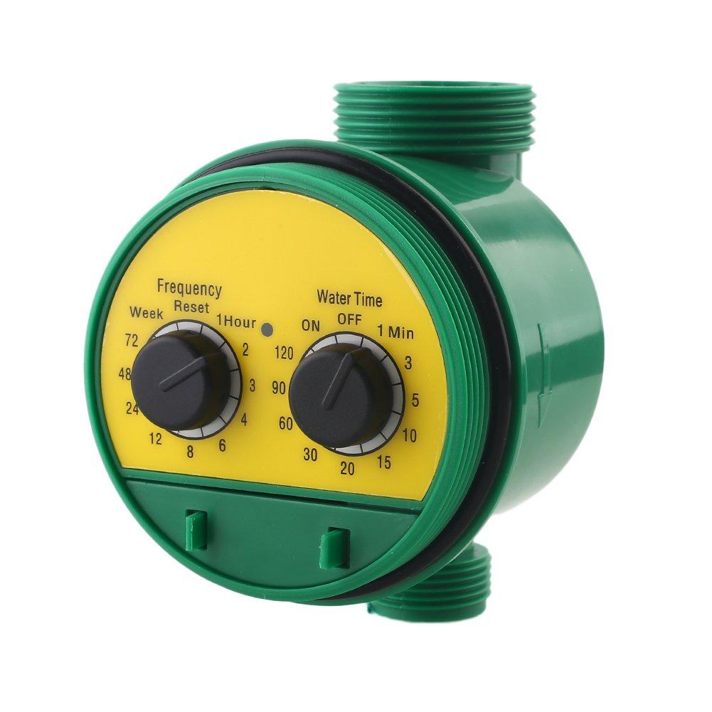 Springdoit Regolatore automatico di irrigazione per irrigazione, impermeabile Timer per tubo acqua ABS con interfaccia G3 / 4, attrezzo per irrigazione da giardino